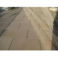 China Flamed/ Polished Misty Yellow Granite For Paving/Stairs/Floor for sale
