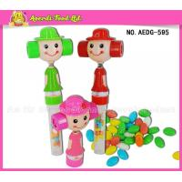 China AEDG- 595 Girl shaking head with whistle candy toy on sale