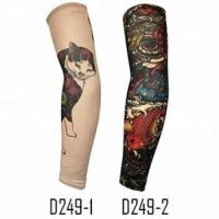 China KaPin hot sale cycling sports arm warmer cover tattoo printed UV protective arm sleeve for fashion on sale