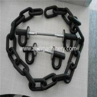 Construction Hardware Products Plastic Coated Steel Ring Link Chain for sale
