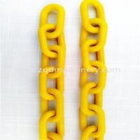Construction Hardware Products Plastic Steel Link Chain for sale