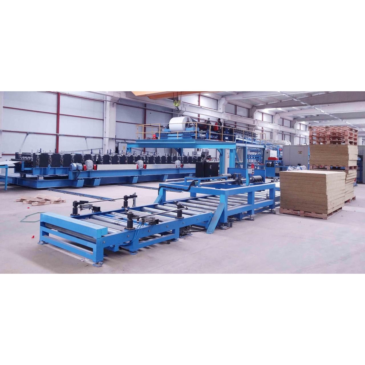 Buy cheap PU and Rockwool Sandwich Panel Production Line from wholesalers