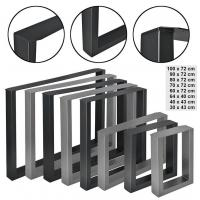 Quality Steel Square table legs-HJST-008 for sale