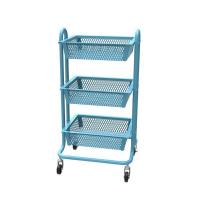 Buy cheap Carbon steel Classic mesh mobile cart-HS-009 from wholesalers