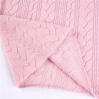 Buy cheap POLAR FLEECE FABRIC solid jacquard anti-pilling polar fleece fabric from wholesalers