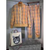 Buy cheap Burberry tracksuit hoodie sports trousers sets from wholesalers