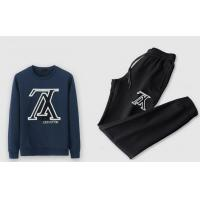 Buy cheap LV tracksuit hoodie&bottom sets from wholesalers