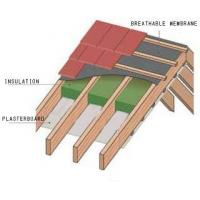 Buy cheap 1.5m wide Breathable membrane for pitched roof from wholesalers