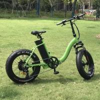 Quality 20X4.0 500w folding electric fat bike for sale