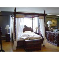 Buy cheap 1006 canopy-bed-(brown) from wholesalers