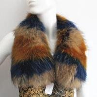 Buy cheap dyed multi colors raccoon fur collar for coat from wholesalers