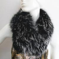Buy cheap dyed collar garment use raccoon fur detachable fur collar from wholesalers