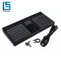 Pos Keyboard With Magnetic Card Reader for sale