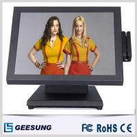 1024 X 768 Resistive / Capacitive 15 Inch LCD POS Touch Screen Monitor for sale