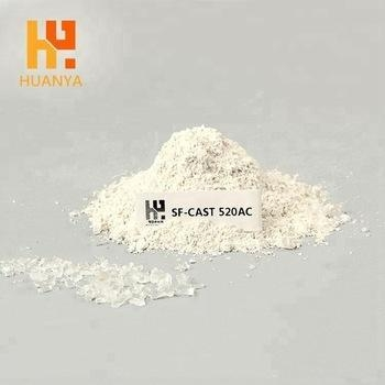 China Fused Silica Non-Stick Aluminum Castable Ceramic Low Cement High Refractoriness Refractory Castable