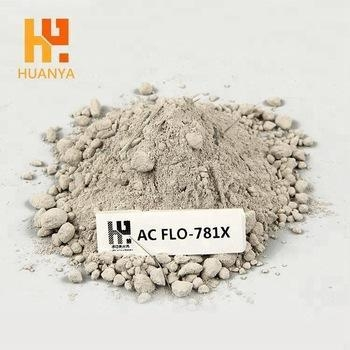 China High Temperature High Strength Refractory Castables Steel Fibre Bauxite Low Cemen