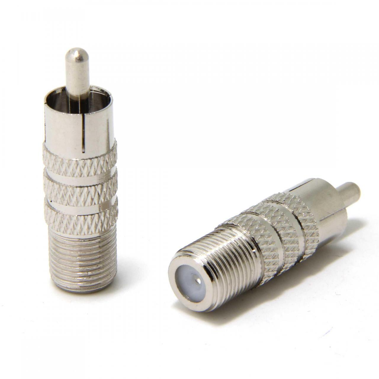 Wholesale connector wuernine F Female To RCA Male Connector Adapter from china suppliers