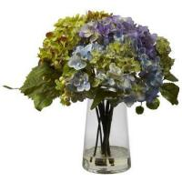 China 2018 Hot Selling Autumn Color Hydrangea Silk Cheap Wholesale Artificial Flowers Hydrangea on sale