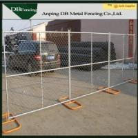 Galvanized chain link temporary fence/moving chain link fence
