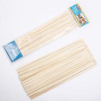 Wholesale BBQ Round Bamboo Skewers/Sticks YHST004 from china suppliers