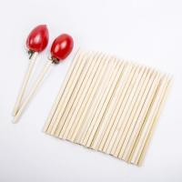Wholesale Fruit/BBQ Bamboo Skewers/Short bamboo sticks YHST007 from china suppliers