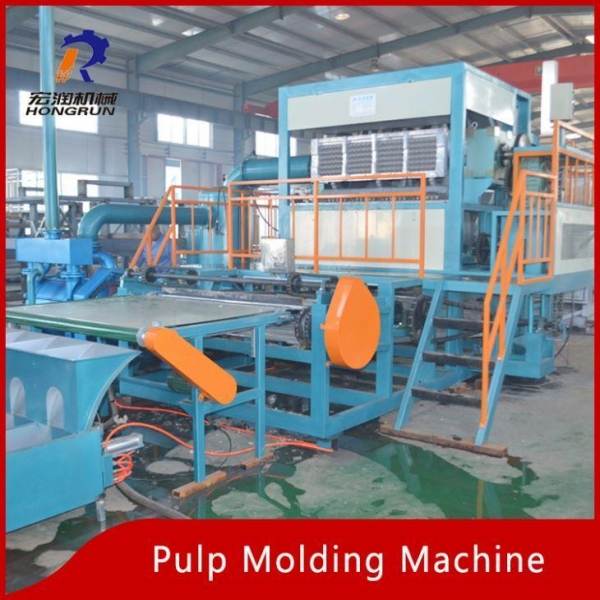 Quality Pulp Tray Machine Egg Tray Forming Machine for sale