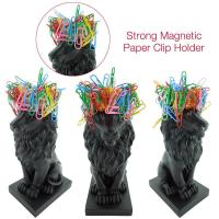 Buy cheap craft and craft Resin royal crown lion figure shape magentic paper clip holder from wholesalers