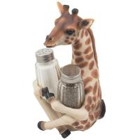 Buy cheap craft and craft Decorative Giraffe Salt and Pepper Shaker Set for Kitchen Decor Figurines from wholesalers
