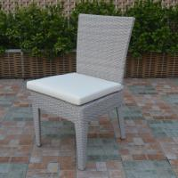 Wholesale Outdoor Dining Grey Wicker Dining Chairs from china suppliers