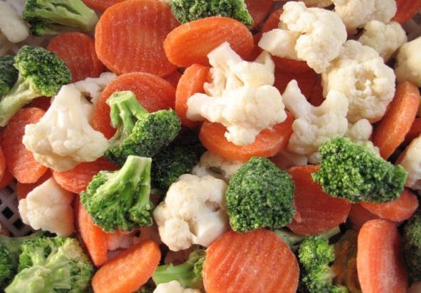 China Frozen food IQF spring mixed vegetables