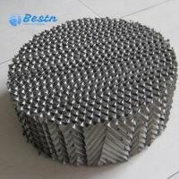 China Mass Transfer Metal Wire Gauze Structured Packing 250Y 350Y 450Y on sale