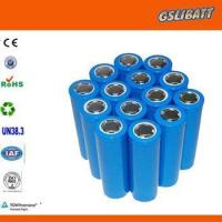 Wholesale 18650 Lithium Cells Lithium Battery Cell and Pack from china suppliers